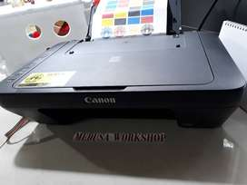 Ready Printer Canon SERI MG2570, Unit Normal + Sudah Infus