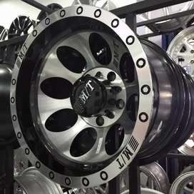Velg mobil ring 15 HSR Lebar 10 Untuk Jimny Sierra Katana cicilan 0%