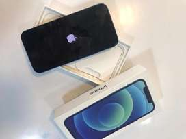I PHONE 12 64GB BLUE COLOUR WITH BILL WARRANTY AVAILABLE