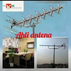 Antena lokal uhf digital