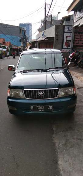 toyota Kijang lgx 18 bensin,manual th 2003