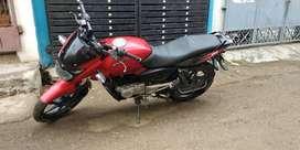 Bajaj Pulsar 150 in good condition 2013 bike black and red color