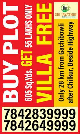 Buy plot, get VILLA free. Or. Invest 6, get 8 lakhs in 3 months