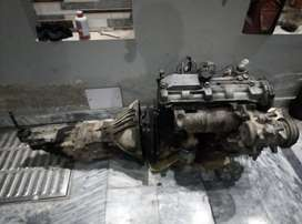 Toyota 2L Diesel (Seized) Engine and Transmission for Sale