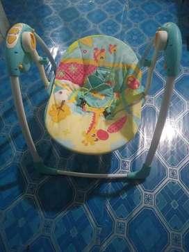 Ayunan bayi pakai listrik