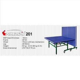 Meja Pingpong Tenis Meja Power Spin 201 FREE ONGKIR