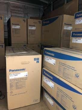 AC Panasonic 2koneksi INVERTER CS-MPS12SKH/CU-2S18SKH 2indoor 1outdoor