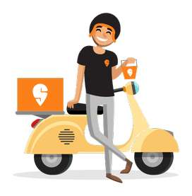 swiggy offering delivery boys