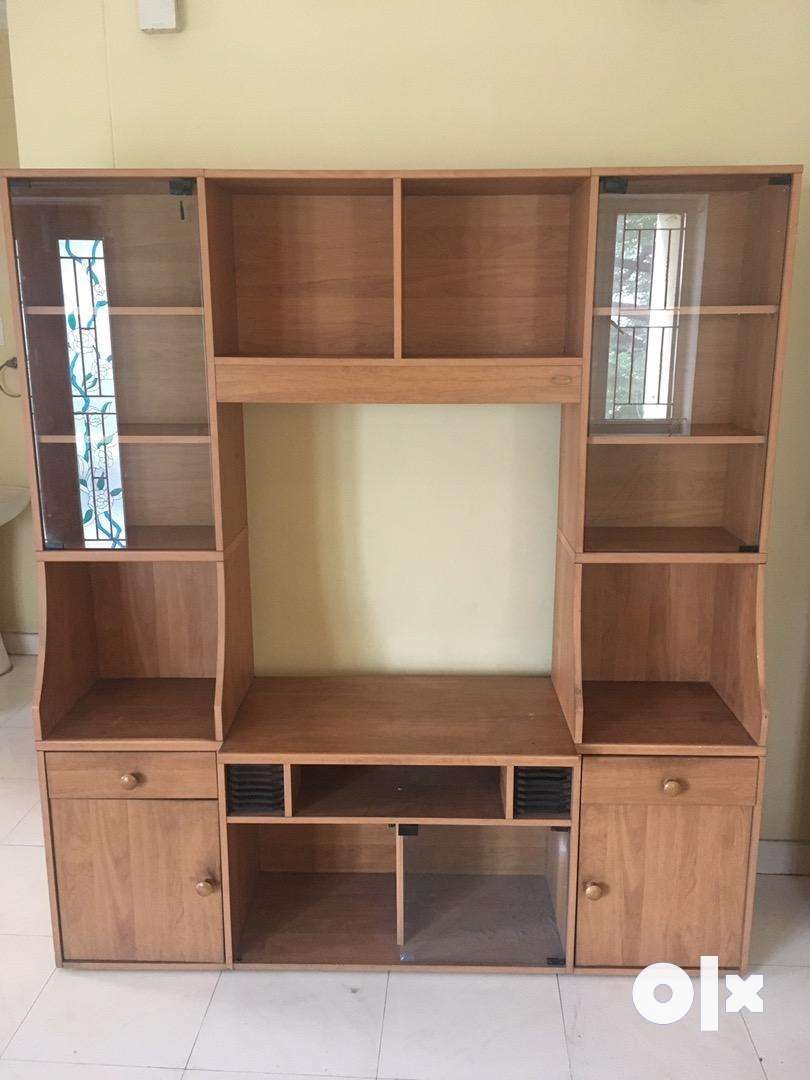TV STAND & cupboard 0