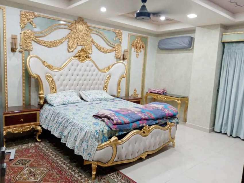 Bahria town phase2Luxury flat rental value 90 thousand two for sale