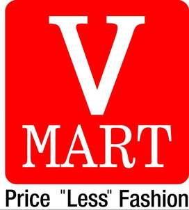 Opening in V Mart for bill executive,counter sales & supervisor