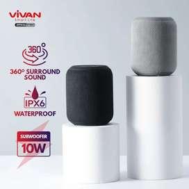 VIVAN Speaker Bluetooth VS12 Surround Sound Waterproof Sound IPX6