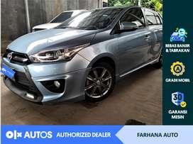 [OLX Autos] Toyota Yaris 2014 1.5 TRD Sportivo M/T Biru #Farhana Auto