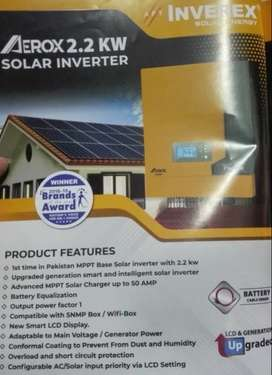 2200Watt Solar Hybrid Inverter by Inverex - 5Years UPS Warranty