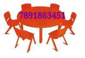 New school furniture set table with chair