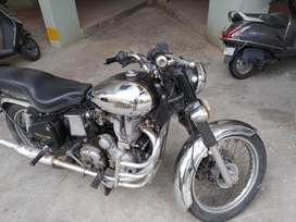 Royal enfield machismo bullet 350 chrome original
