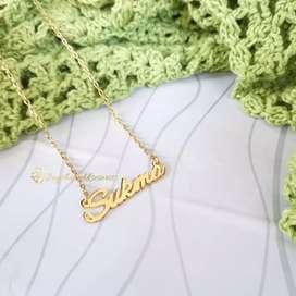 Kalung lapis emas