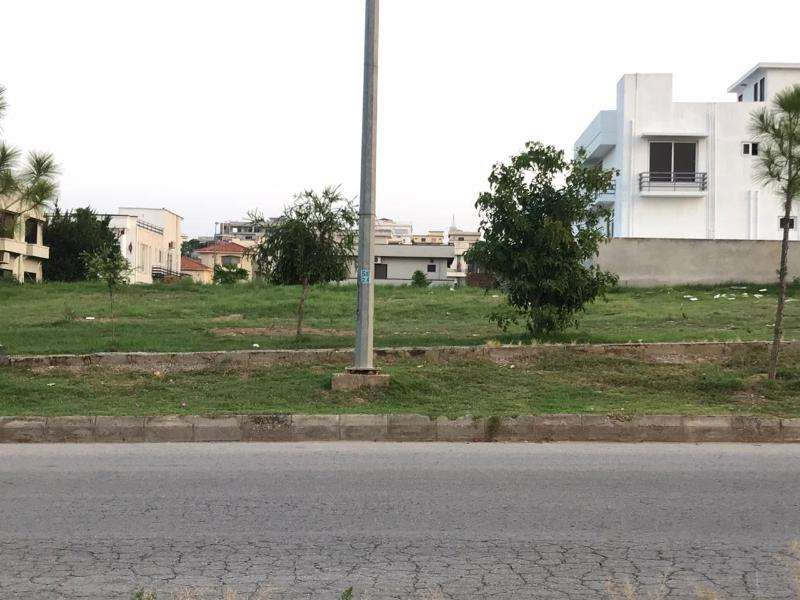 Corner Residential Plot Is Available For Sale At Prime Location 0