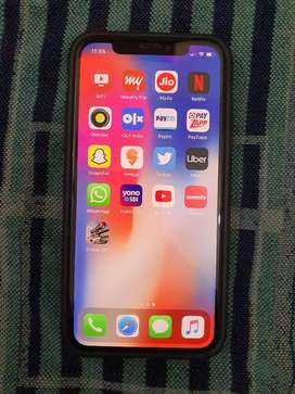 iPhone X Space Grey 64 GB 1 month old