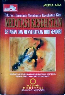 Buku meditasi kesehatan