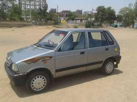 Maruti 800 5 speed a one condition with ac ok