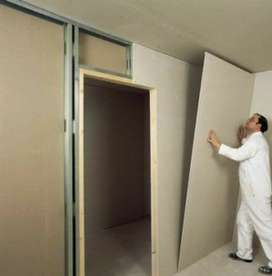 Gypsum partition & roof ceiling   0333         5797967