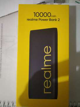 REALME POWER BANK 10000mAh with Sealed Box 1 year Realme Warranty