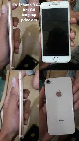 Iphone 8gb fullset