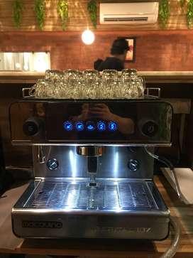 Professional Espresso Machine & Coffee Grinder