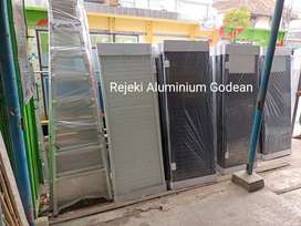 Pintu aluminium plus kusen WC Toilet