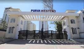 3BHK (1511 Sqft) Flat for Rent at Purva Westend, Hosur Road, Bangalore