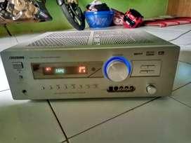 Jual amplifier receiver sansui rz6890av dolby digital/dts
