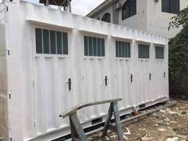 .,shower container porta cabin prefab steel/structure maker in Lahore.