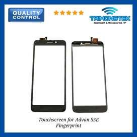 Touchscreen Layar Sentuh for Advan S5E Fingerprint Finger Print I5D