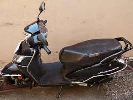 Activa 125 Black colour