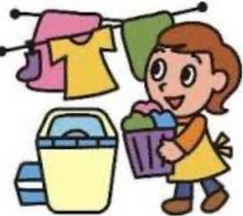 Jasa cuci gosok baju
