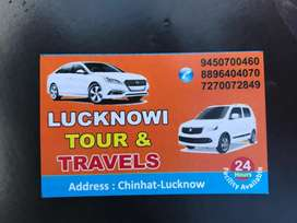 Lucknowi tour nd travel 24×7 hour facility available