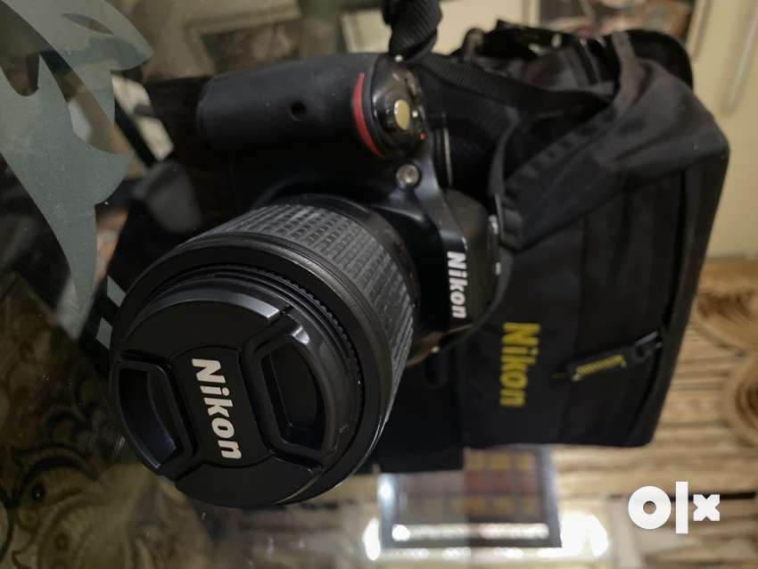 Nikon D5200 with 2 lenses, never used