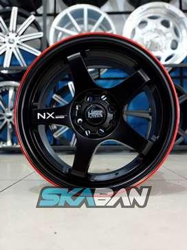 hsr wheel ring 16x7 h8(114,3/100) utk mobil yaris,etios,xenia