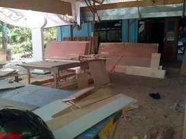 Desain interior kitchen set furniture rumah apartemen bandung