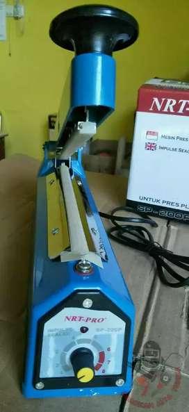 Impulse Sealer 20 cm NRT-PRO Alat Mesin Press Plastik kemasan COD BDG