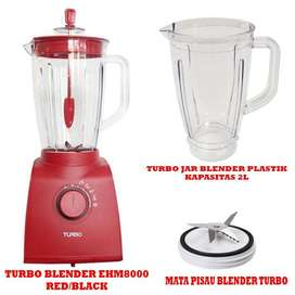 Turbo Set Blender EHM8000 Dengan Jar Plastik 2L Dan Mounting Turbo