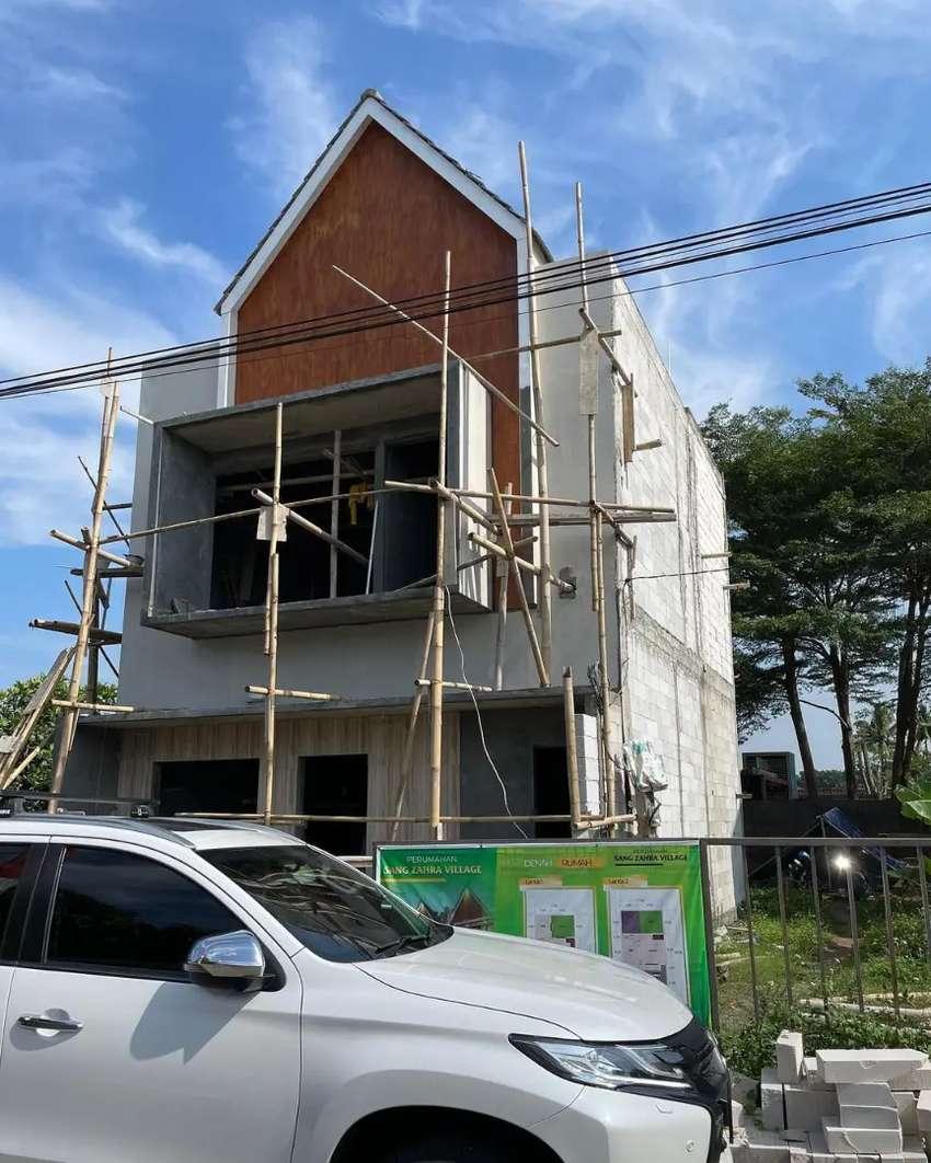 Jasa bangun rumah tropis minimalis modern Serang