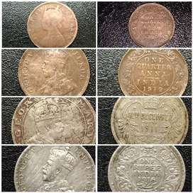 Rare old coin 2 coin is pure silver price is 1 lakh for per coin