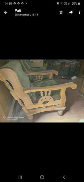 sofa orginal saag ke lakade ka