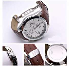 Branded leather strap watches CASH ON DELIVERY price negotiable