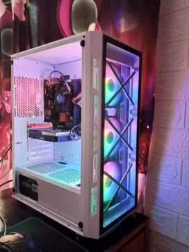 PC I5 6600K VGA GT 1030 2GB RAM 8GB PAKAI SSD 128GB KENCENG