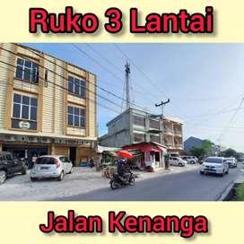 Ruko dijalan Kenanga, Senapelan