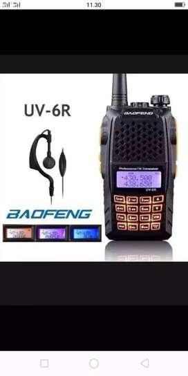 Radio ht baefeng 6r u/v