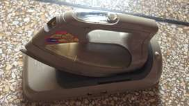 cordless steam iron toshiba  made in japan  110 volts  with out conver